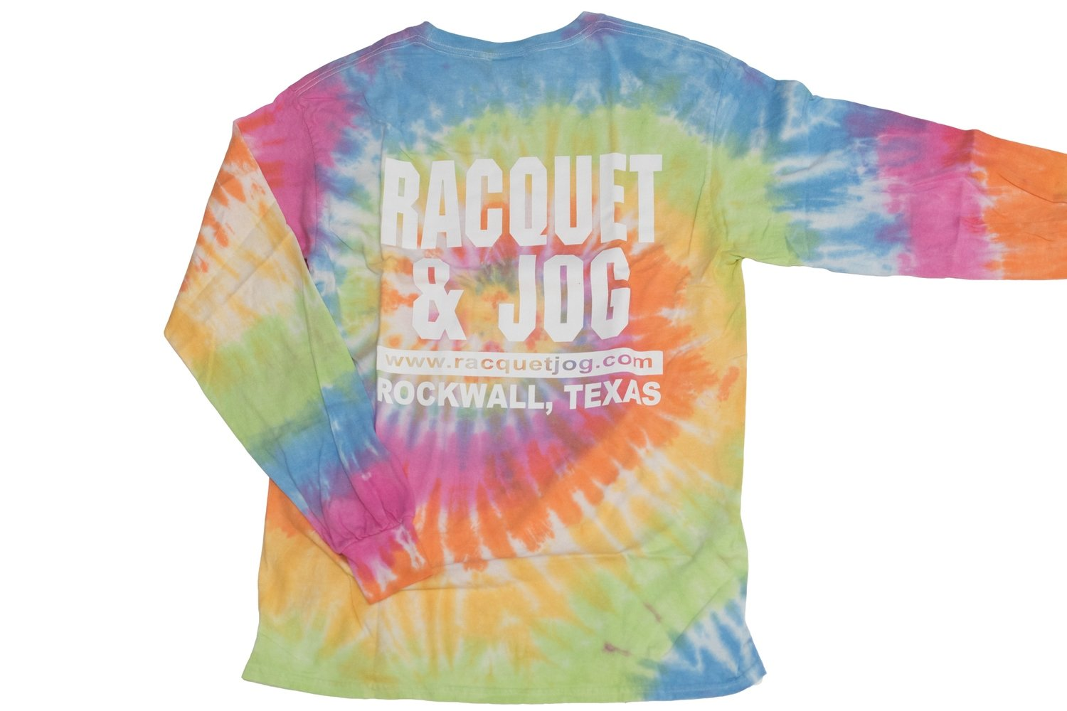 Racquet & Jog Old School Tie Dye Long Sleeve Tee