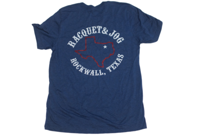 Racquet & Jog Specialty Texas Outline Youth Track Tee
