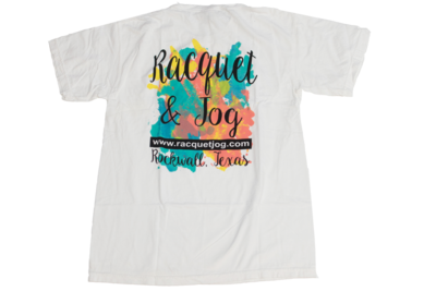 Racquet & Jog Specialty Color Logo Youth Tee