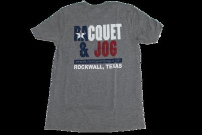 Racquet & Jog Old School Print TX Flag Youth Tee