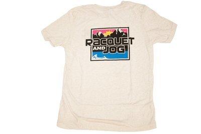 Racquet & Jog Specialty Mountain Logo Track Tee