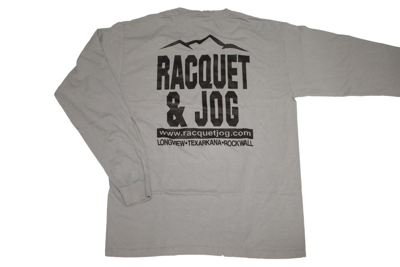 Racquet & Jog Old School Print ETX Mountain Peak Long Sleeve Tee