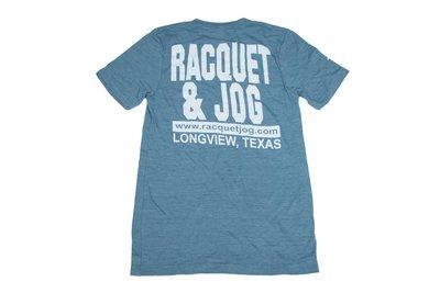Racquet & Jog Old School Core Jersey V-Neck Tee