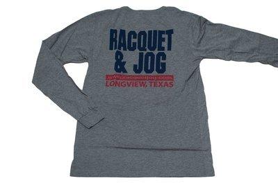 Racquet & Jog Old School Team Track Long Sleeve Tee