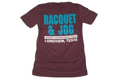 Racquet & Jog Old School Fashion Track Tee