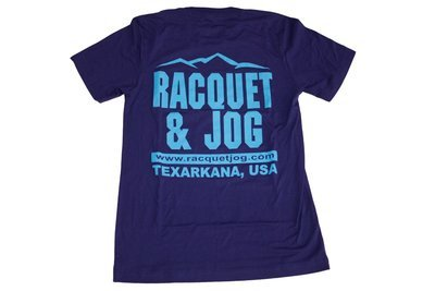 Racquet & Jog Old School Print Mountain Peak Tee