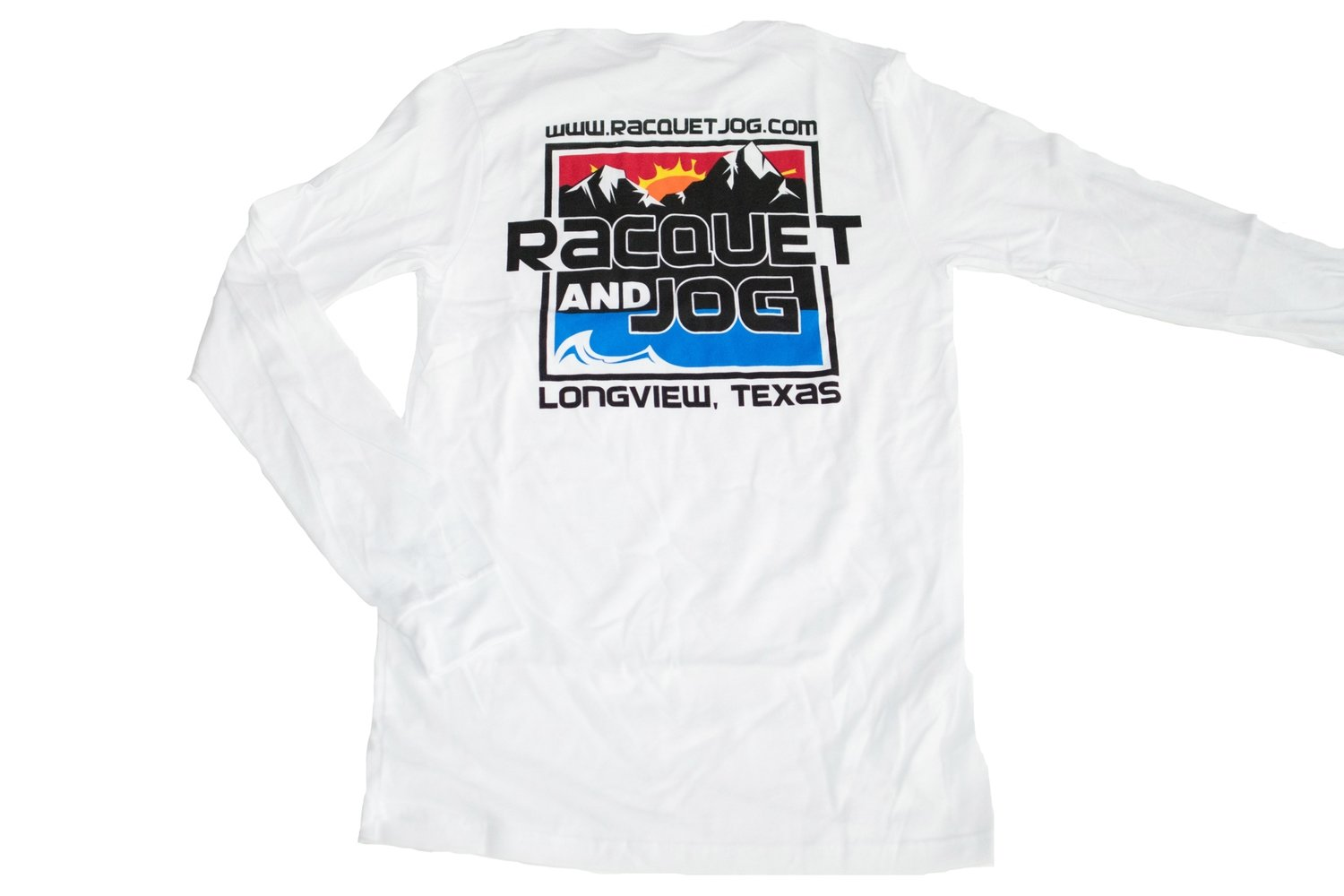 Racquet & Jog Old School Core Jersey Long Sleeve Tee