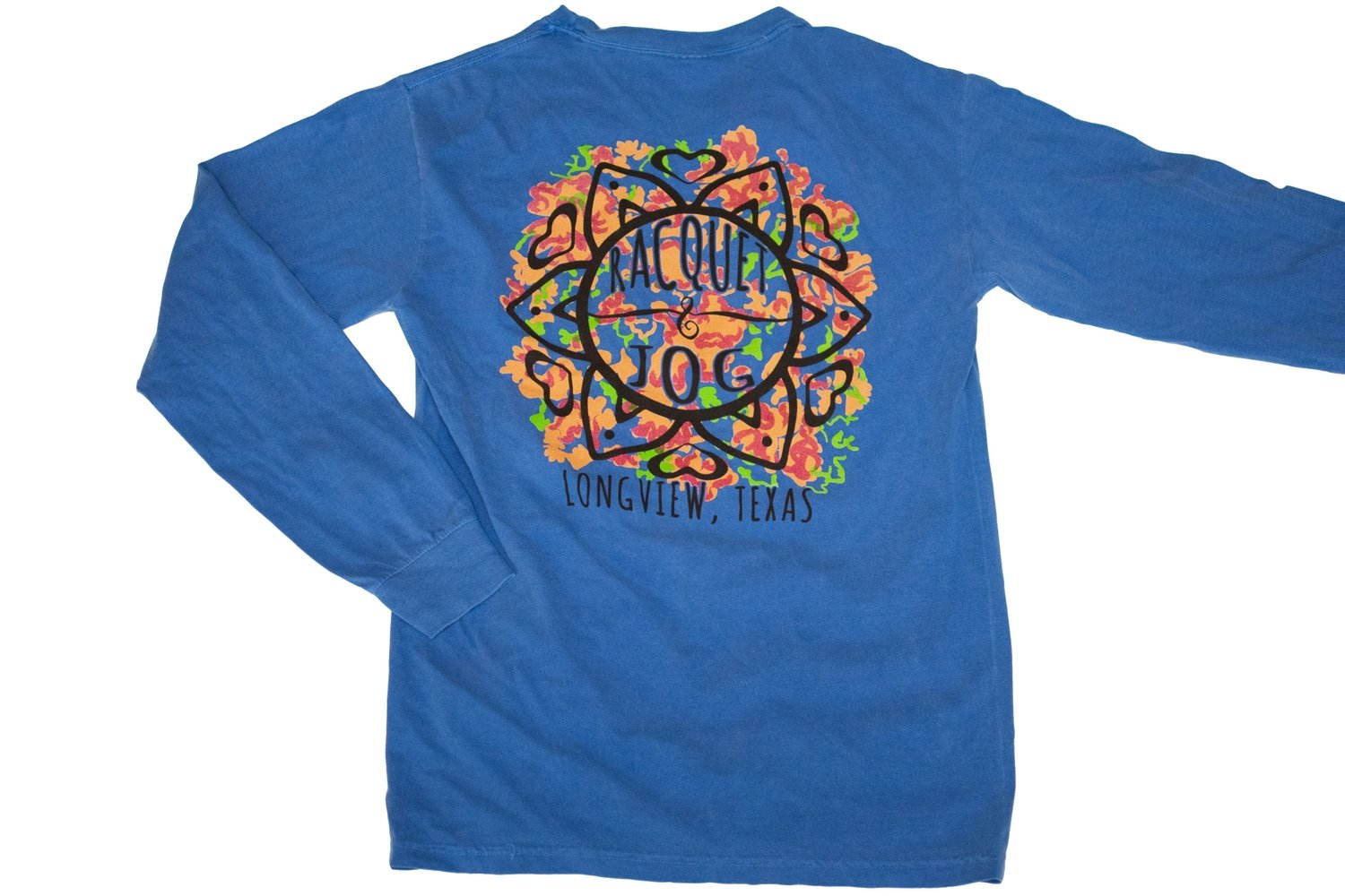 Racquet & Jog Specialty Leaves Long Sleeve Tee