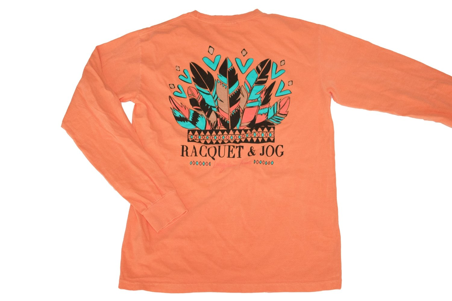 Racquet & Jog Specialty Headress Long Sleeve Tee