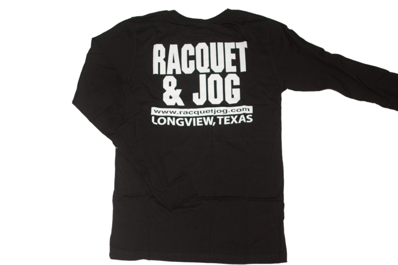 Racquet & Jog Old School Core Long Sleeve Youth Tee