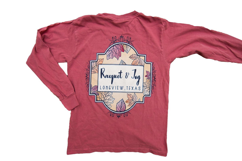 Racquet & Jog Specialty Autumn Kid Long Sleeve Tee