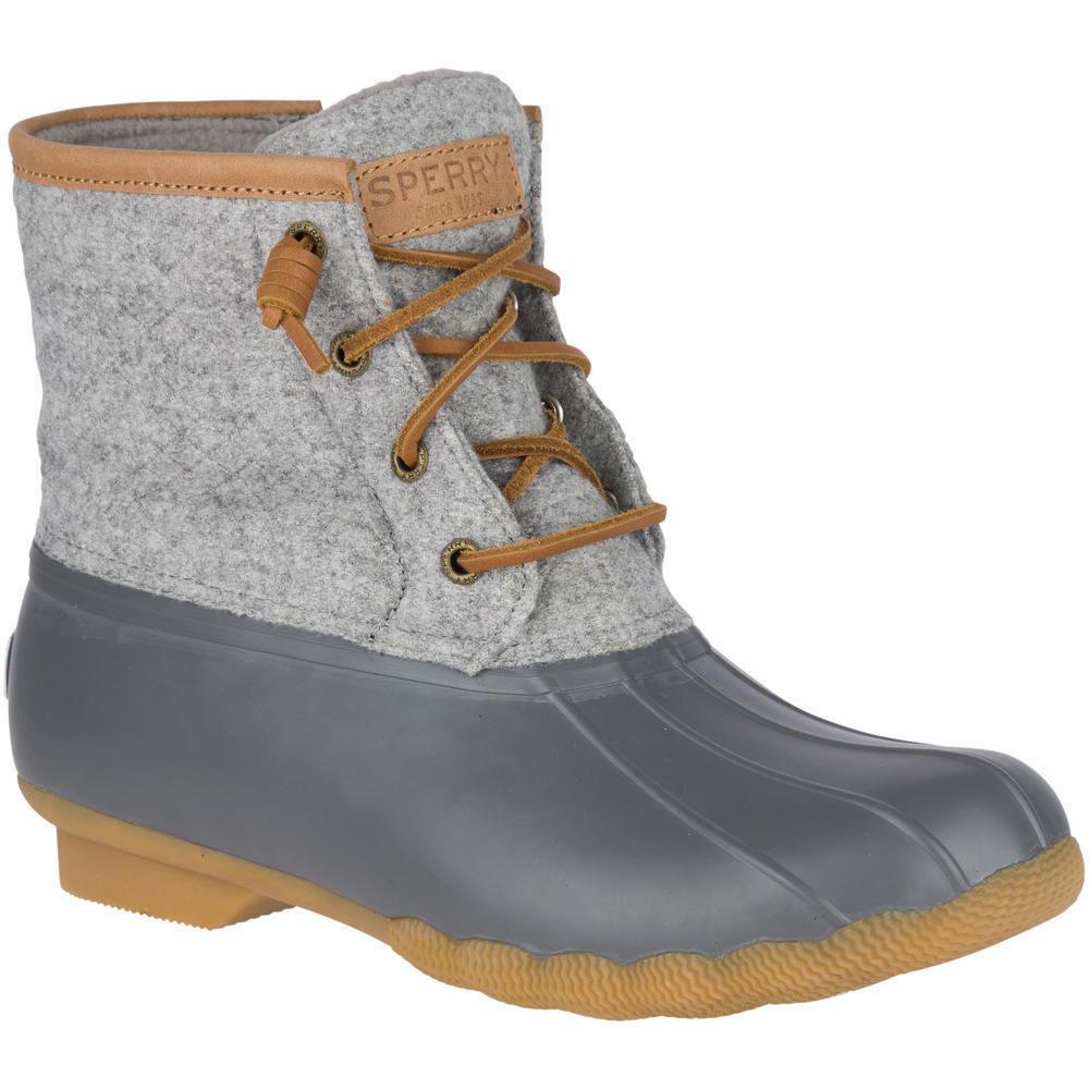 Saltwater Wool Embossed Duck Boot