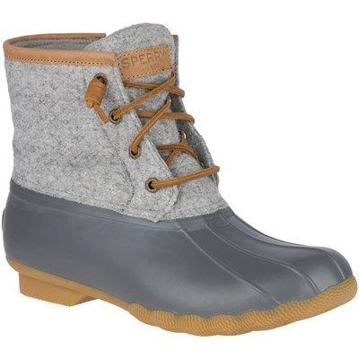 Sperry Women's Saltwater Wool Embossed Duck Boot