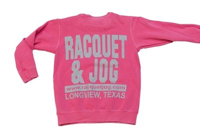 Racquet & Jog Old School Core Youth Pullover