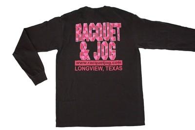 Racquet & Jog Old School Valentine Long Sleeve Tee