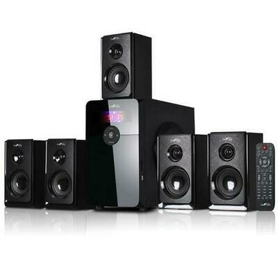 BeFree Sound 5.1 Channel Surround Sound Speaker System