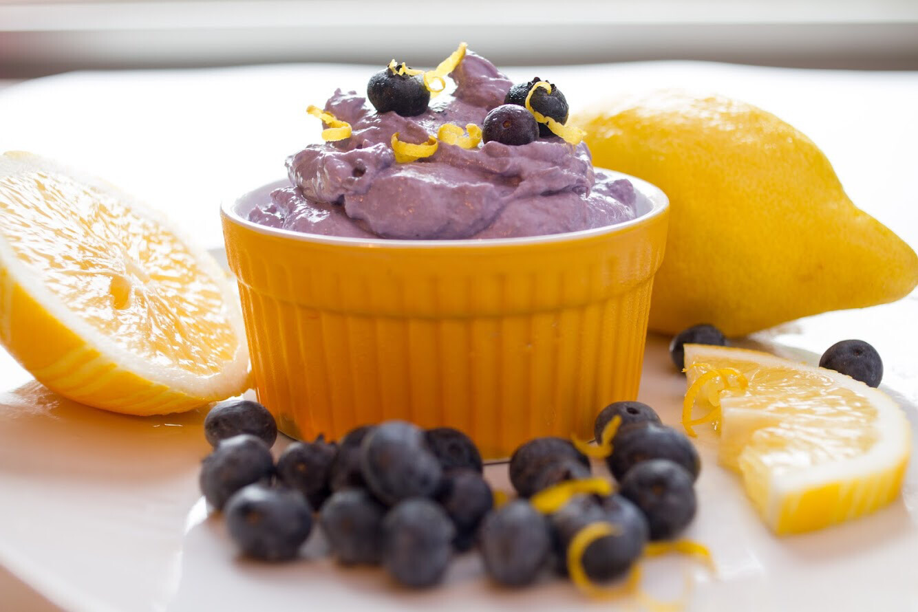 Meyer Lemon Blueberry Cultured Spread 8 oz