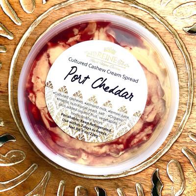 Port Cheddar Cultured Pub Cheese Spread 8 oz