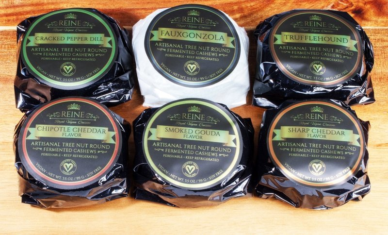SIGNATURE COLLECTION SET of 6 Vegan Cheese Rounds-Shipping Included