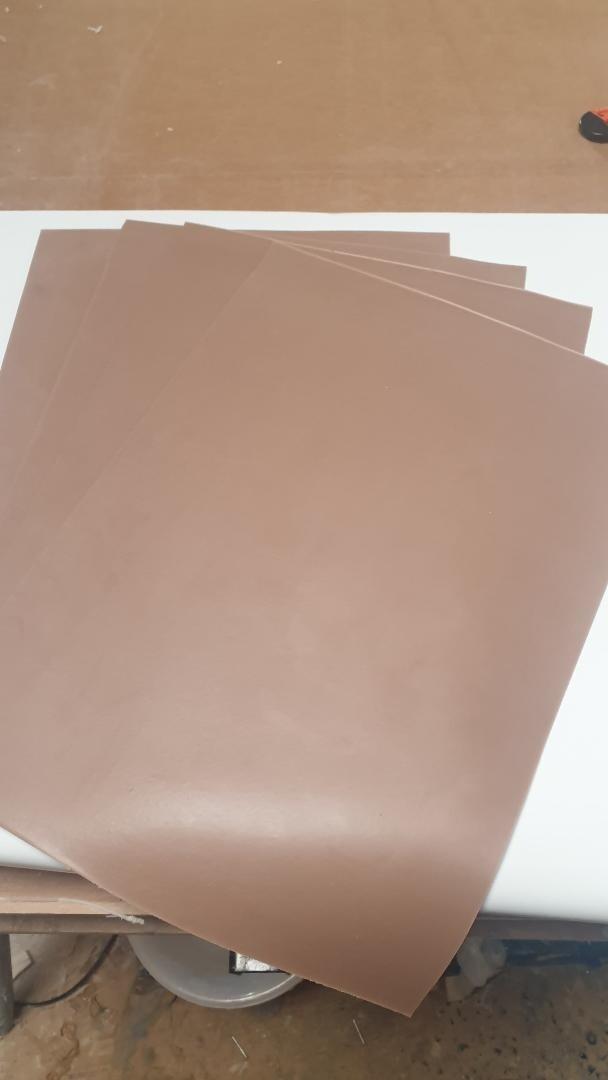 3 x A5 Reelskin sheets (Darker Tone)