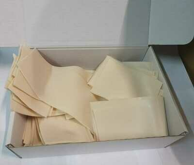 3KG SUPER Box of Reelskin sheet off-cuts
