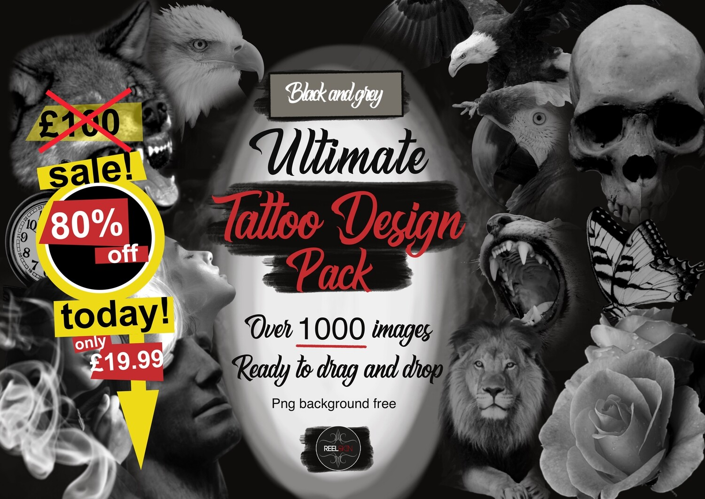 Ultimate Tattoo design pack