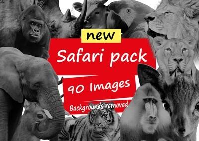 safari image pack / black and grey/