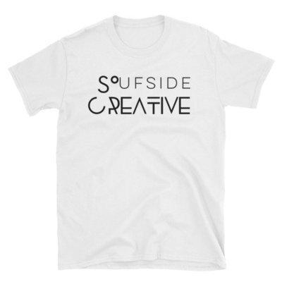 Soufside Creative Original White Short-Sleeve T-Shirt