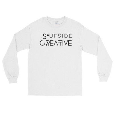 Soufside Creative Original White Long Sleeve T-Shirt