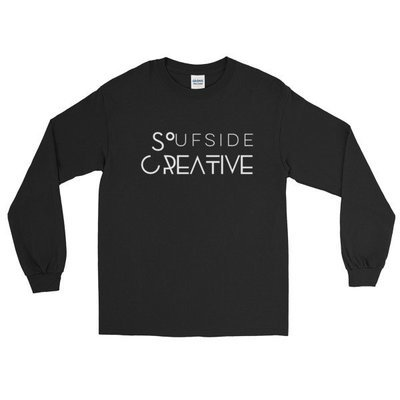 Soufside Creative Original Black Long Sleeve T-Shirt