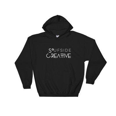 Soufside Creative Original Black Hooded Sweatshirt