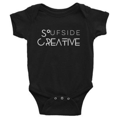 Soufside Creative Original Infant Bodysuit (Black)