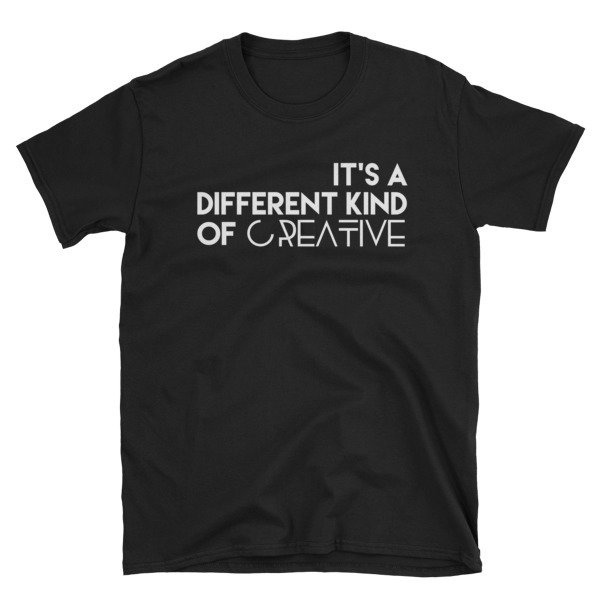 'It's a Different Kind...' Short-Sleeve Unisex T-Shirt (Black)
