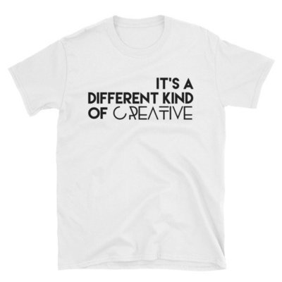 'It's a Different Kind..' Short-Sleeve Unisex T-Shirt (White)