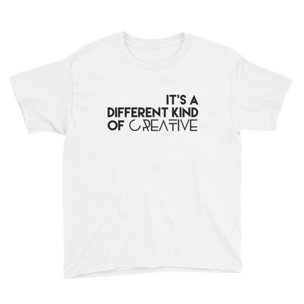'It's a Different Kind...' Youth Short Sleeve T-Shirt (Black Letters)