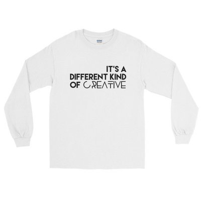 'It's a Different Kind...' Long Sleeve T-Shirt (White)