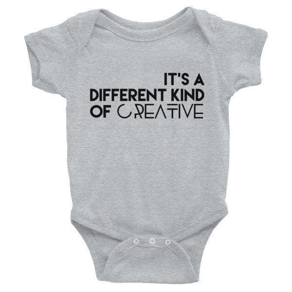 'It's a Different Kind...' Infant Bodysuit (Colors)