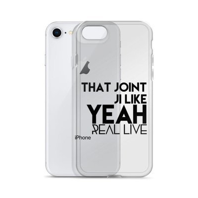 'That Joint Ji Like Yea....' iPhone Case