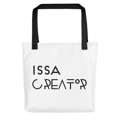 """Issa Creator"" Tote bag (Black)"