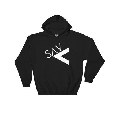 'Say Less' Hooded Sweatshirt