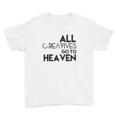 'All Creatives Go...' Youth Short Sleeve T-Shirt