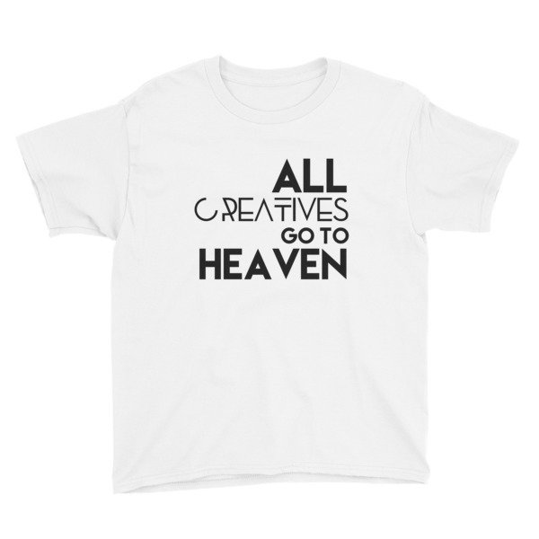 'All Creatives Go...' Youth Short Sleeve T-Shirt