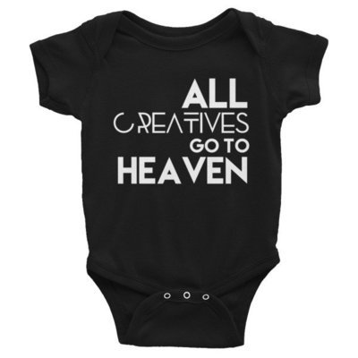 'All Creatives Go...' Infant Bodysuit