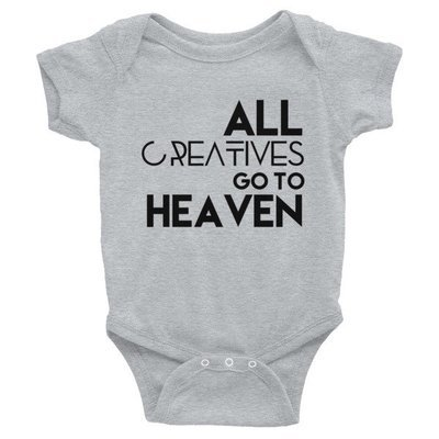 'All Creatives Go... Infant Bodysuit