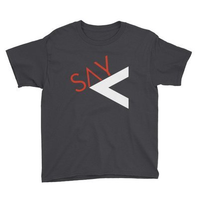 'Say Less' Youth Short Sleeve T-Shirt