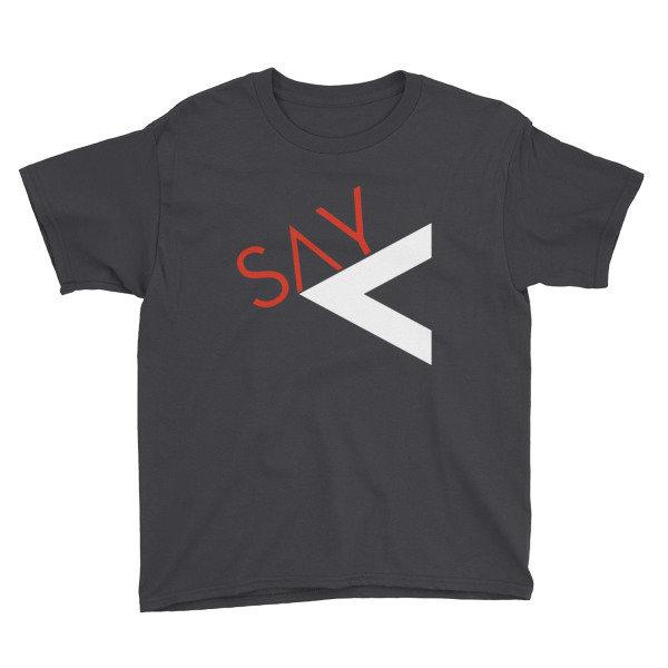 'Say Less' Youth Short Sleeve T-Shirt