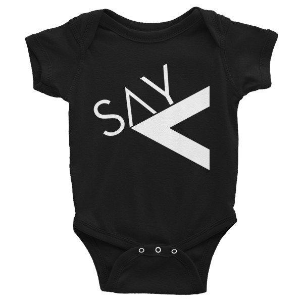'Say Less' Infant Bodysuit