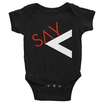 'Say Less' Infant Bodysuit