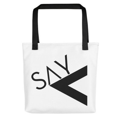 'Say Less' Tote bag