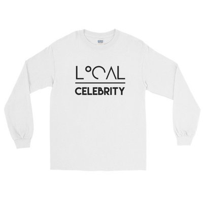 'Local over Celeb' Long Sleeve T-Shirt